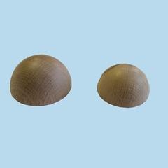 Mezze sfere in faggio