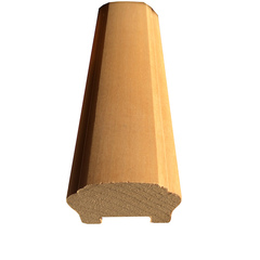 Corrimano in legno grezzo - mod. piccolo
