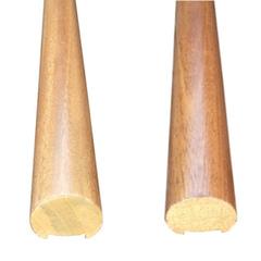 Corrimano in legno tondo